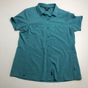 Outdoor Research Blue Casual Button Up Shirt